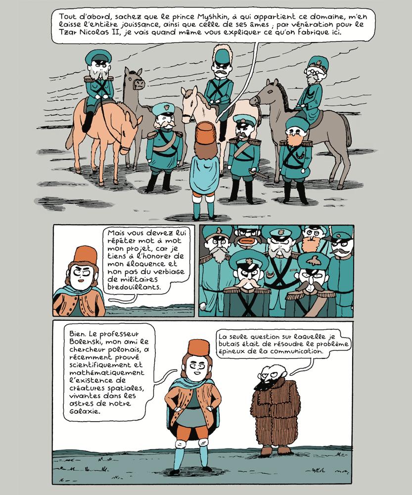 Léon Maret bande dessinée extrait Gulmira 2