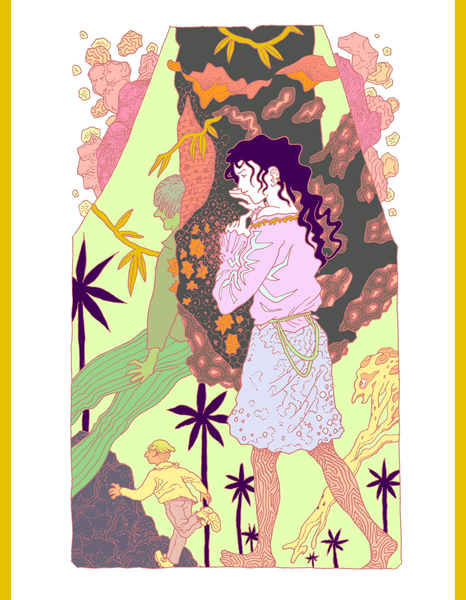 Singeon illustration femme